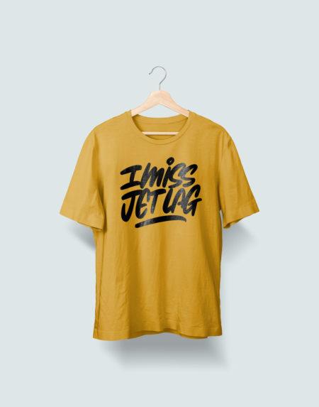 I Miss Jet Lag Beehive Yellow