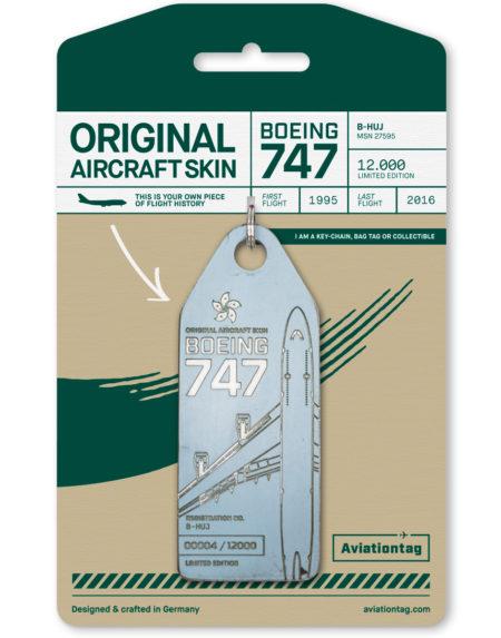 Cathay pacific Boeing 747 – B-HUJ