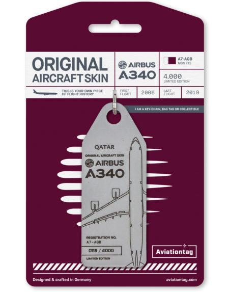 qatar airways luggage tag