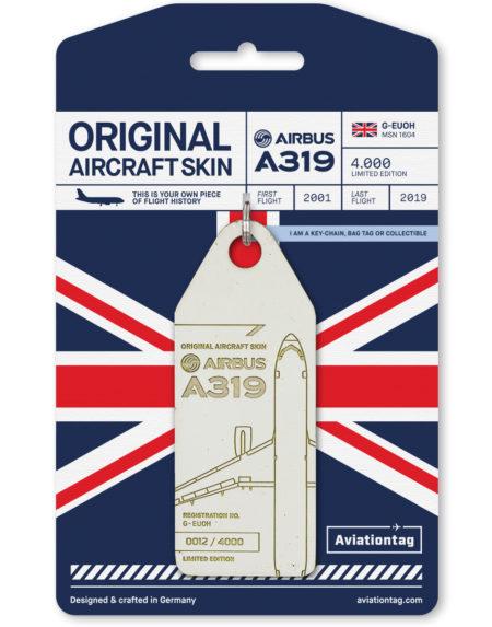 British Airways aviation tag