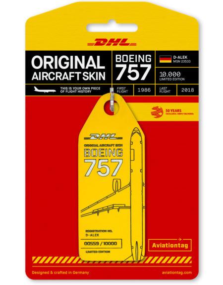 Aviation Tag DHL skin tag