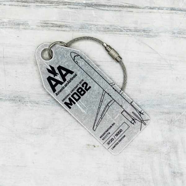 MD82 American Airlines Tag FRONT